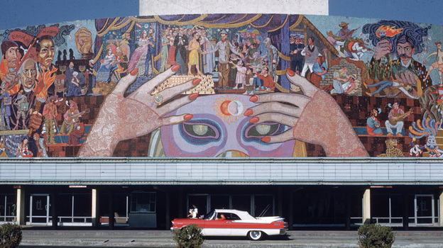 Unusual diego rivera work restored in mexico city listen for Diego rivera lenin mural