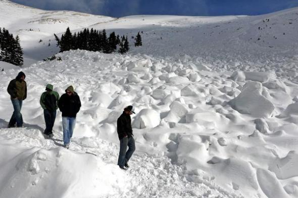 DEADLY AVALANCHE KILLS 5 SNOWBOARDERS ON LOVELAND PASS IN COLORADO