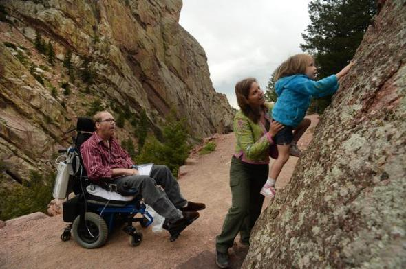 Climber and alpinist Jeff Lowe battles Amyotrophic Lateral Sclerosis (ALS) also known as Lou Gehrig's Desease.