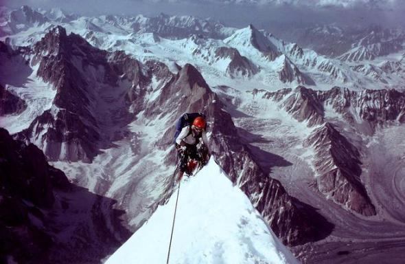 Climber and alpinist Jeff Lowe battles a motor neuron diesease similar to Amyotrophic Lateral Sclerosis (ALS) also known as Lou Gehrig's Desease.