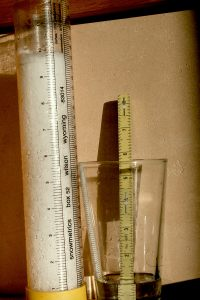 snow tube-water content