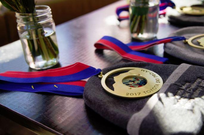 Medals 2017 Pro-Am