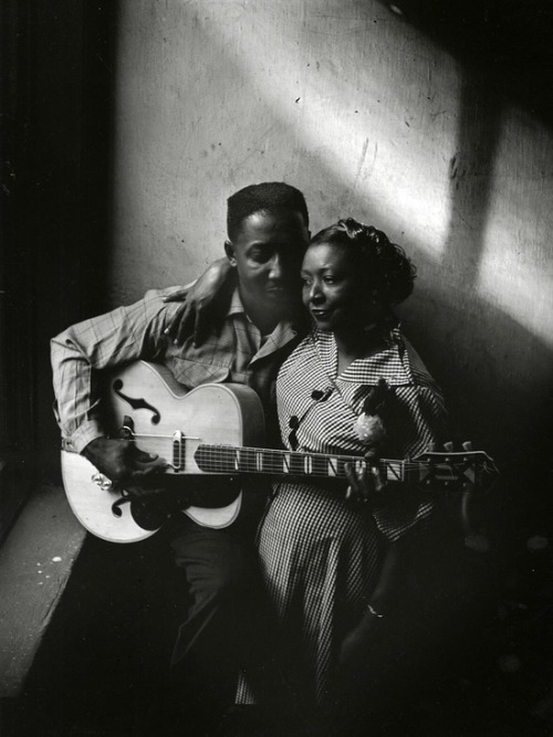 Muddy Waters and wife Geneva, Chicago-1951ArtShay.jpg