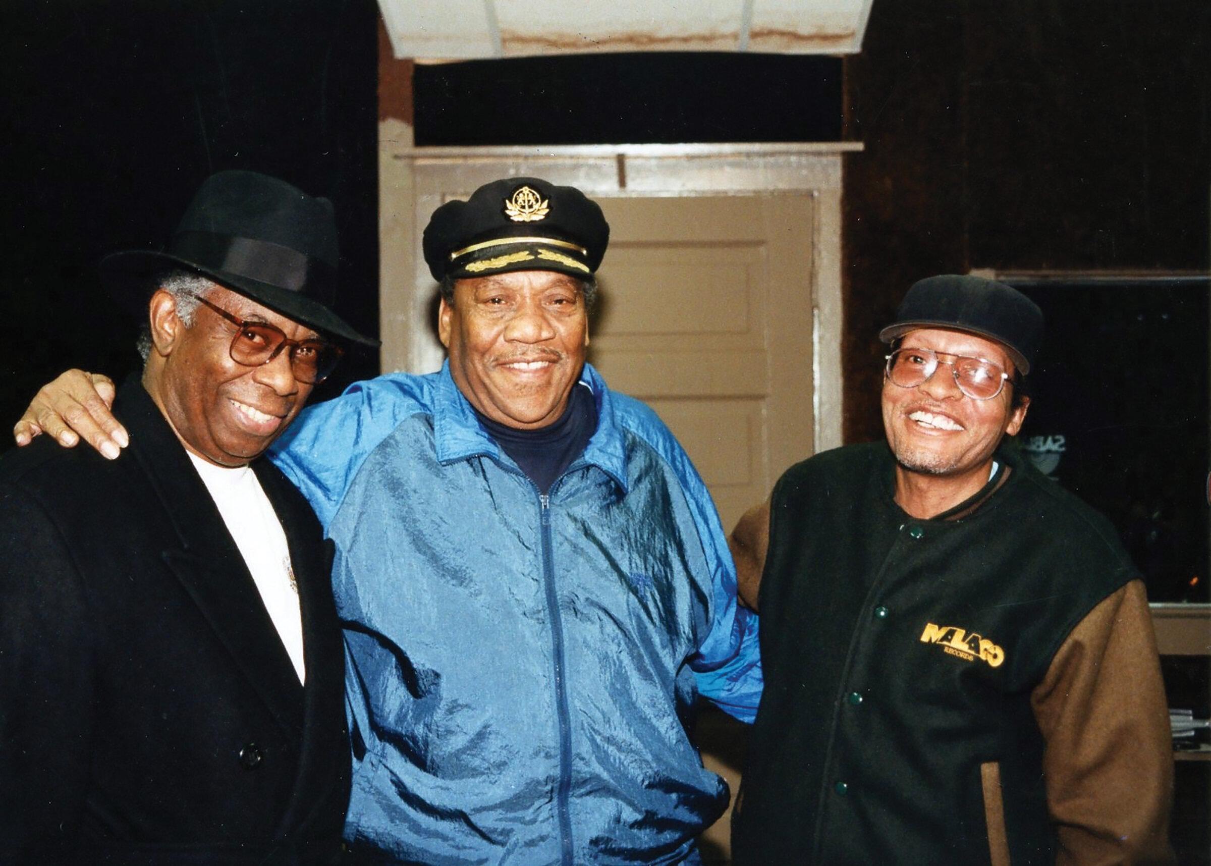 Frederick Knight, Bobby Blue Bland, and George Jackson.